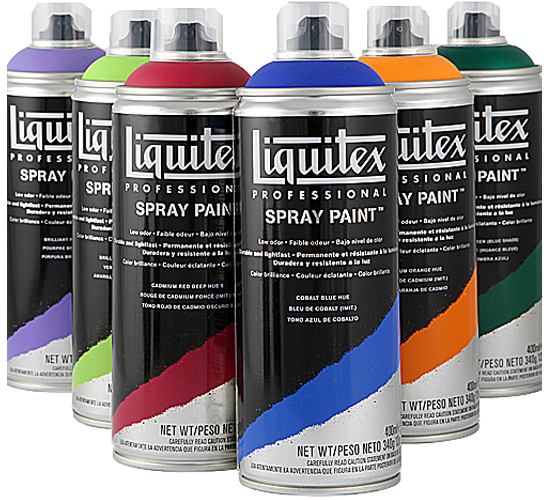 spray paints can be matched up to liquitex soft heavy body acrylic. Black Bedroom Furniture Sets. Home Design Ideas